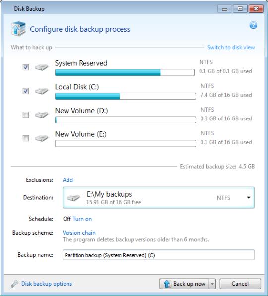 Как сделать бэкап на ноутбуке